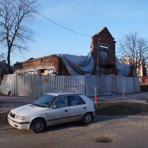 [Kraków] Rozbiórka, al. Pokoju 30 504858