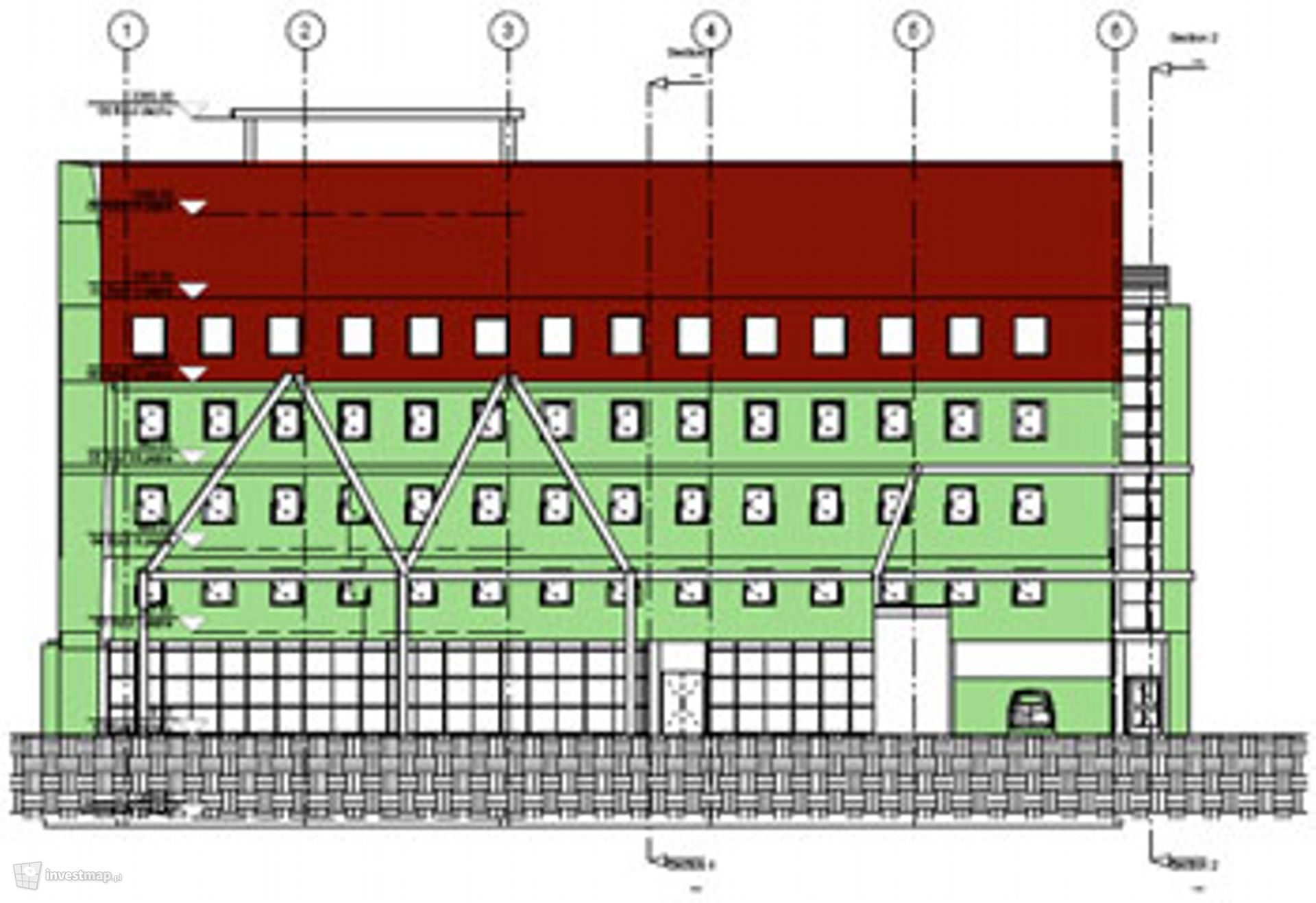 Budynek mieszkalno-usługowy, ul. Spółdzielcza