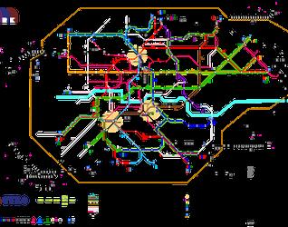 [Kraków] METRO - miejski bezkolizyjny transport szynowy w Krakowie 140319