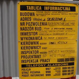 [Kraków] Szpital, ul. Skarbowa 1 417823