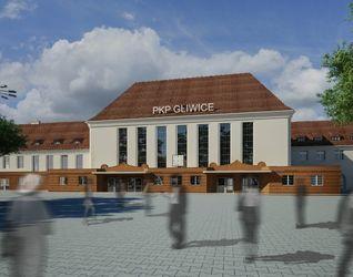 [Gliwice] Dworzec PKP (przebudowa) 129568