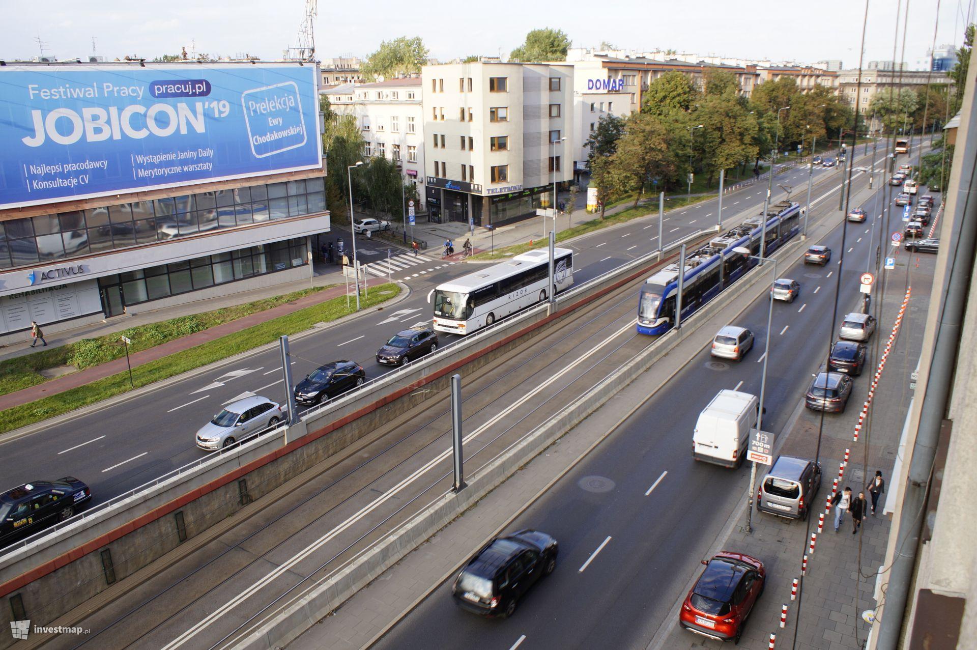 Przebudowa trasy Rondo Mogilskie - Pl. Centralny