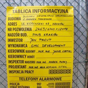 [Kraków] Budynek Mieszkalny, ul. Kościuszki 47 480806