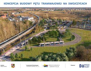Trasa autobusowo-tramwajowa na Swojczyce 501286