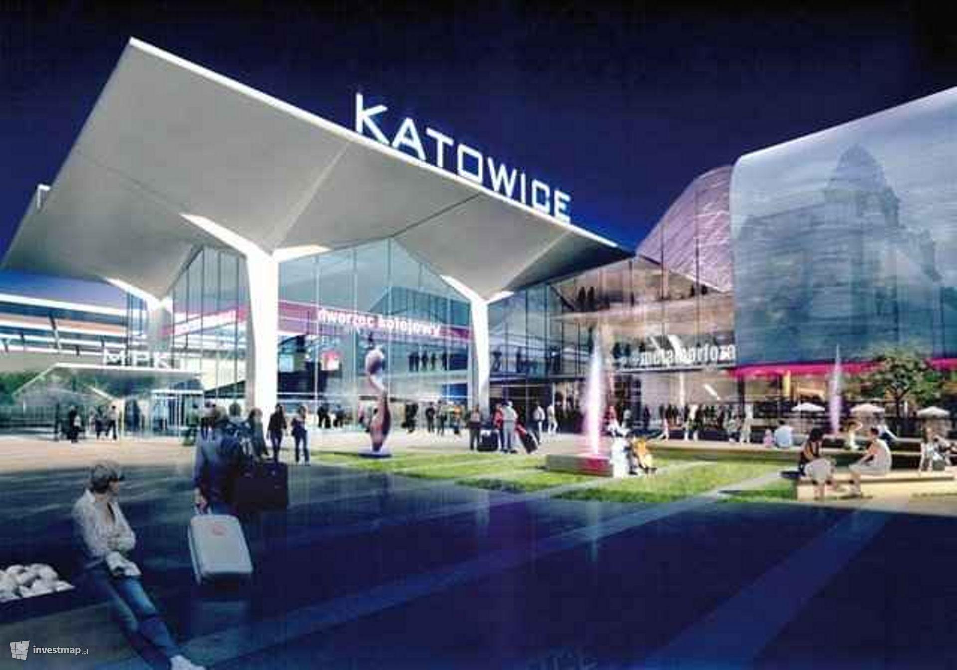 Remont Dworca Głównego PKP i Galeria Katowicka