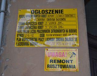 [Wrocław] Remont kamienicy, Rozbrat 14 226599