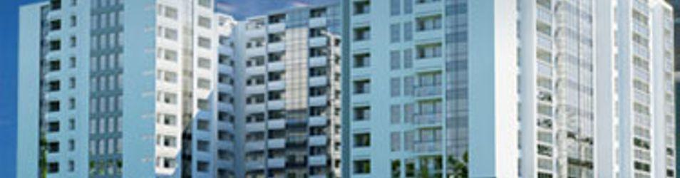 """[Poznań] Apartamentowiec """"Tarasy Warty"""" 5415"""