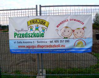 """[Świdnica] Niepubliczne Przedszkole """"Frajda"""" 86532"""