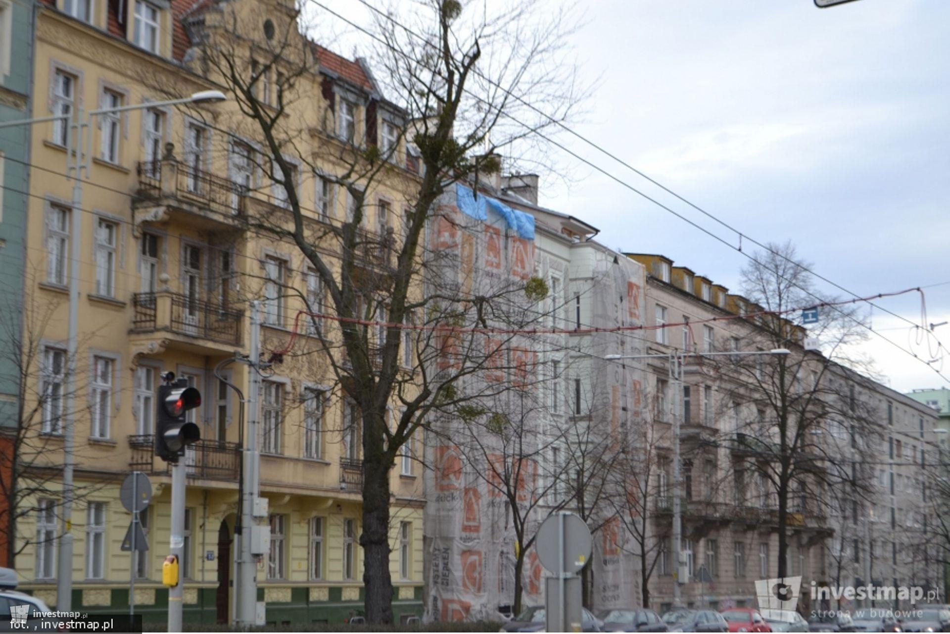 Remont kamienicy, ul. Marii Curie-Skłodowskiej 46