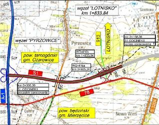 [Pyrzowice] Droga S1 węzeł Lotnisko - węzeł Pyrzowice 37674