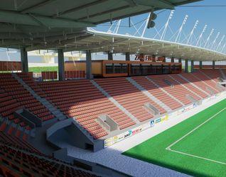 """[Lubin] Nowy stadion Zagłębia """"Dialog Arena"""" 7211"""