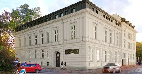 "Hotel ""Altus Palace"", ul. Wierzbowa 15 366381"