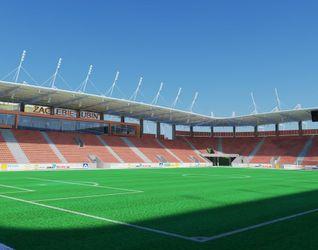 """[Lubin] Nowy stadion Zagłębia """"Dialog Arena"""" 7213"""