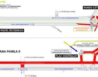[Kraków] Przebudowa trasy Rondo Mogilskie - Pl. Centralny oraz skrzyżowanie z ul. Lema 131886