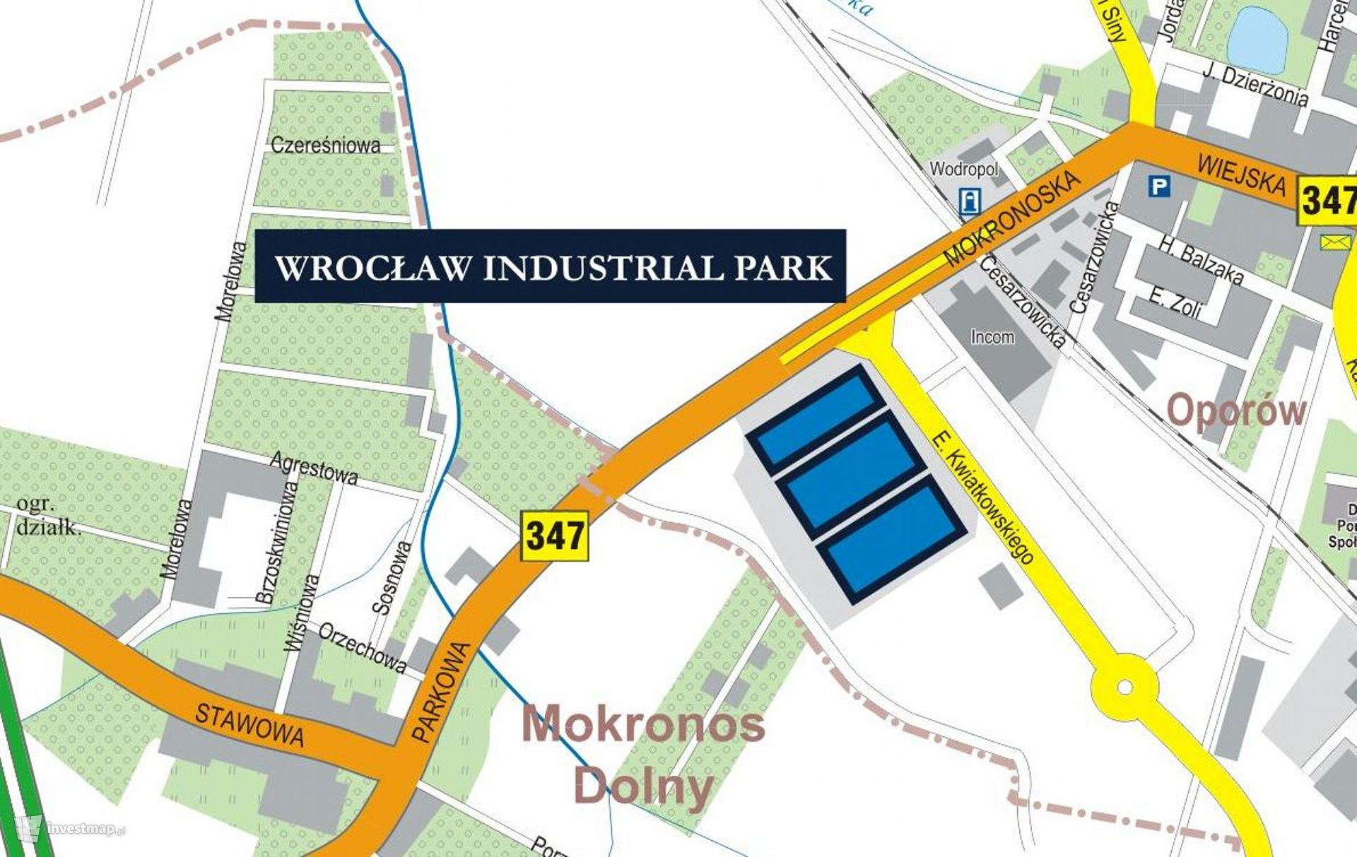 Kompleks magazynowy Goodman Wrocław IV Logistics Centre