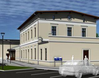 Dworzec kolejowy w Kątach Wrocławskich 491269