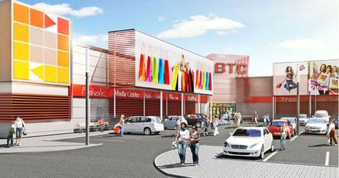 """[Bielany Wrocławskie] Centrum handlowe """"Bielany Trade Center"""" 29746"""
