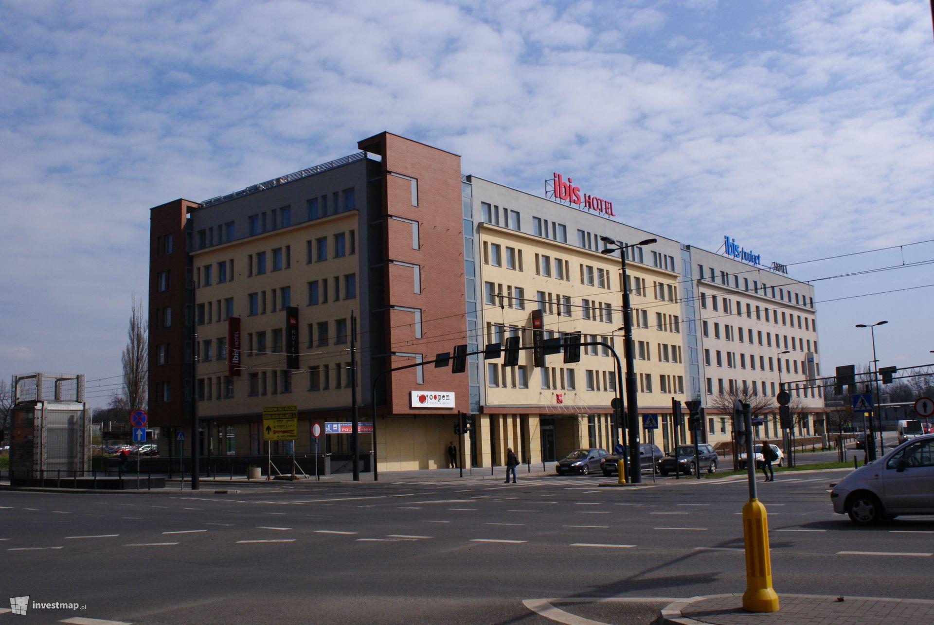 Hotele Ibis, ul. Pawia