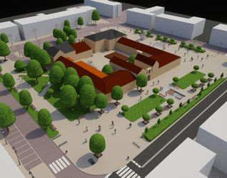 Nadanie nowych funkcjonalności społecznych, gospodarczych i rekreacyjnych obszarowi rynku starego miasta we Włodawie. 502581