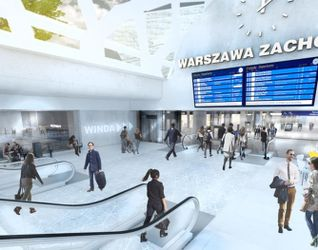 """[Warszawa] Nowy dworzec """"Warszawa Zachodnia"""" 312374"""