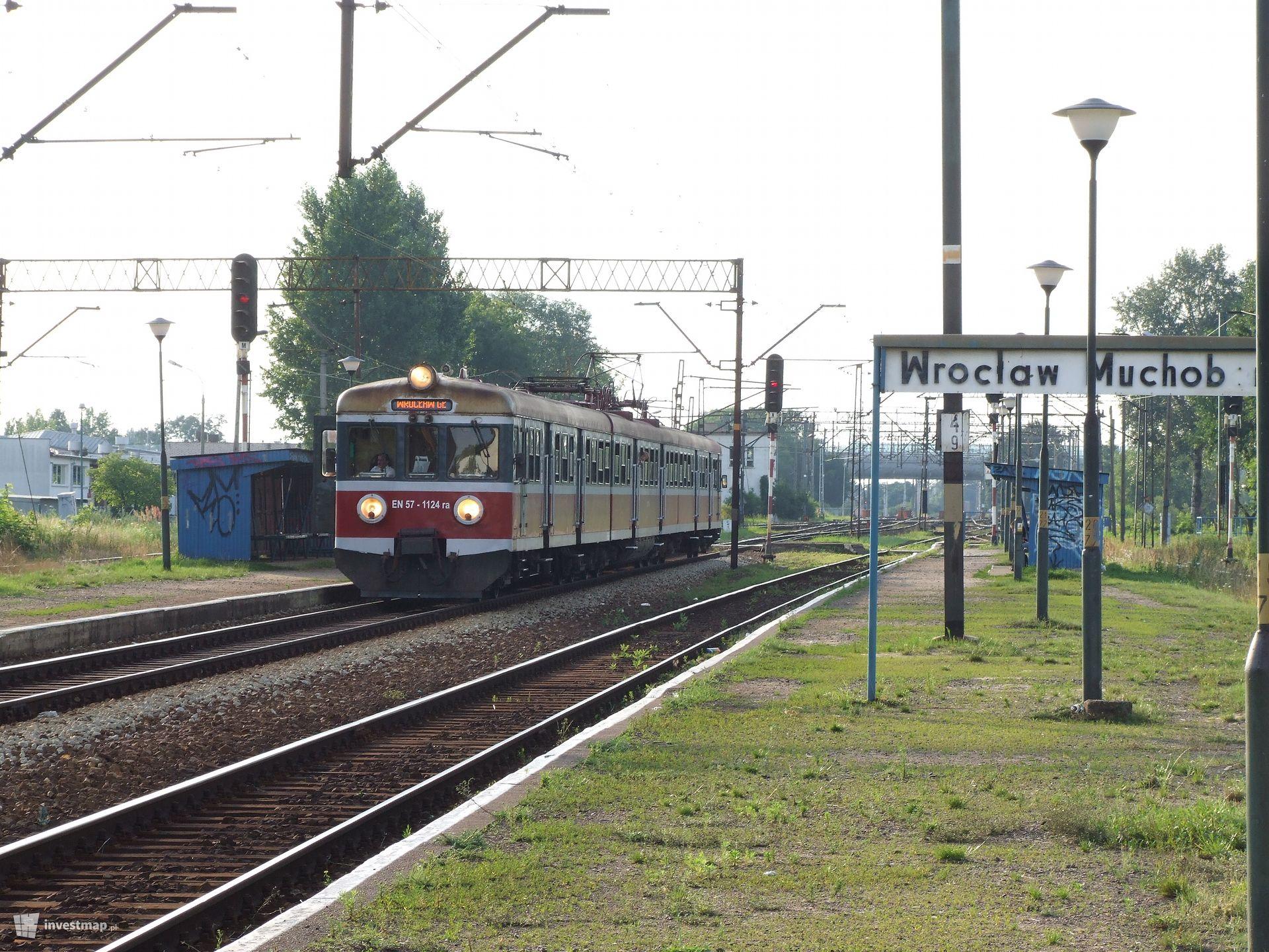 Modernizacja stacji Wrocław Muchobór