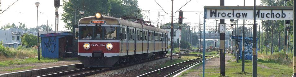 Modernizacja stacji Wrocław Muchobór 374071