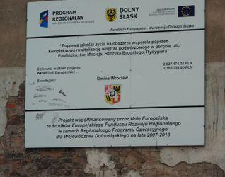 [Wrocław] Rewitalizacja podwórka pomiędzy ulicami Brodatego/Chrobrego/Paulińska/Rydygiera 40251