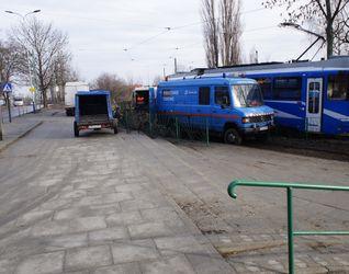 """[Kraków] Remont pętli tramwajowej """"Wzgórza Krzesławickie"""" 412732"""