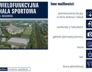 Hala sportowa, ul. Racławicka 62 502845