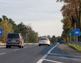Południowy wylot z Warszawy drogi ekspresowej S7 471871