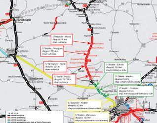 Południowy wylot z Warszawy drogi ekspresowej S7 471873
