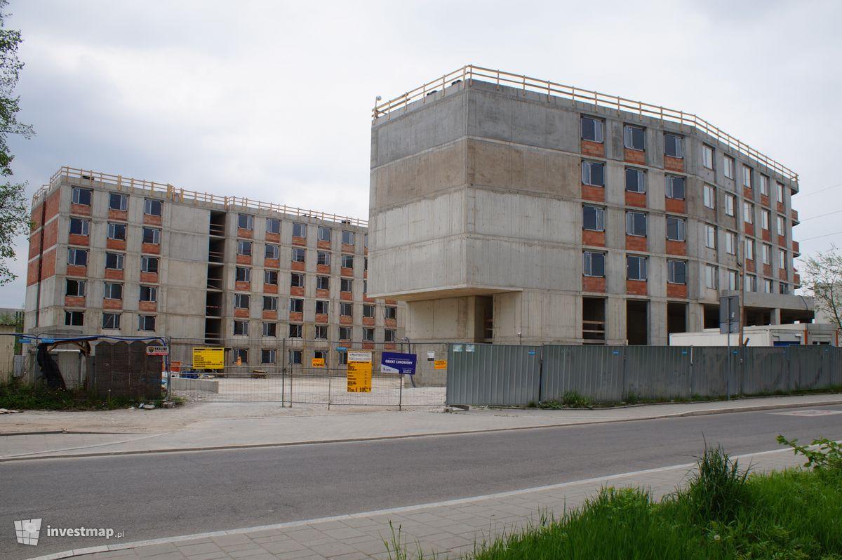 Zdjęcie Akademik UJ, ul. Łojasiewicza fot. Damian Daraż
