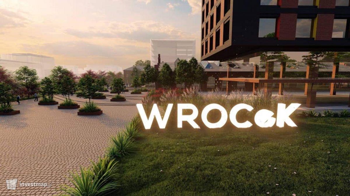 Wizualizacja WROCeK2 - Wrocławskie Centrum Komunikacji i Kultury dodał Orzech