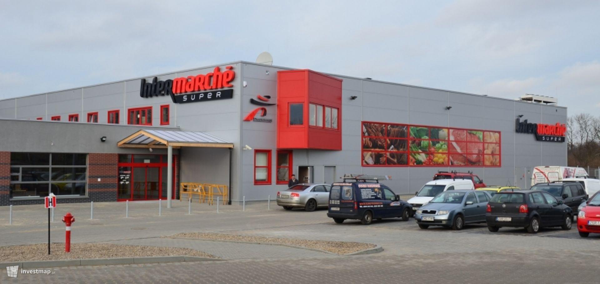 Supermarket Bricomarché, ul. Maślicka