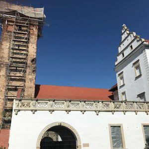 Zamek w Prochowicach (remont) 491342