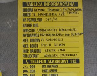 [Wrocław] pl. Nankiera 2/3 73038