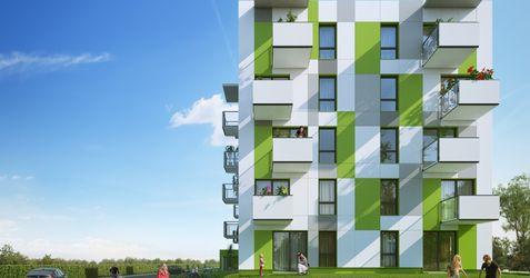 """[Warszawa] Budynek wielorodzinny """"Accent Vert"""" 326991"""