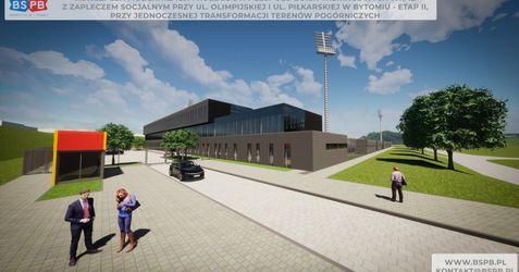 Obiekt sportowy przy ul. Piłkarskiej w Bytomiu 502351