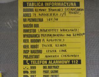 [Wrocław] pl. Nankiera 2/3 73039