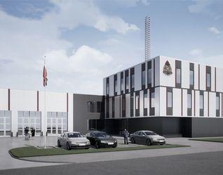 Budynek Jednostki Ratowniczo Gaśniczej w Łodzi 505352