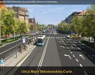 [Wrocław] Przebudowa ciągu ulic Curie-Skłodowskiej - Wróblewskiego - Wystawowa - Mickiewicza 31058