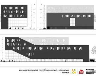 """[Wrocław] Centrum Biznesu i Wspierania Przedsiębiorczości """"Grafit"""" (+ hala kupiecka) 9042"""