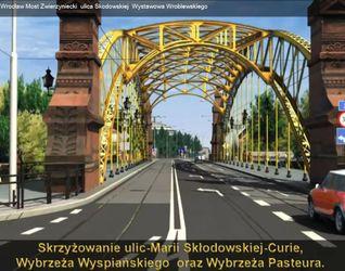 [Wrocław] Przebudowa ciągu ulic Curie-Skłodowskiej - Wróblewskiego - Wystawowa - Mickiewicza 31060