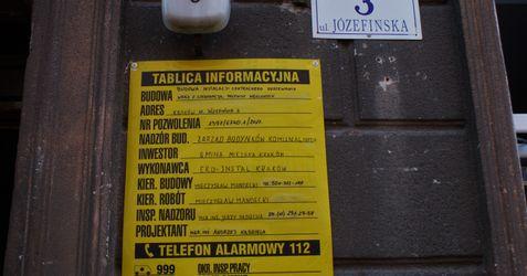 [Kraków] Remont Kamienicy, ul. Józefińska 3 355412