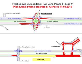[Kraków] Przebudowa trasy Rondo Mogilskie - Pl. Centralny 148309