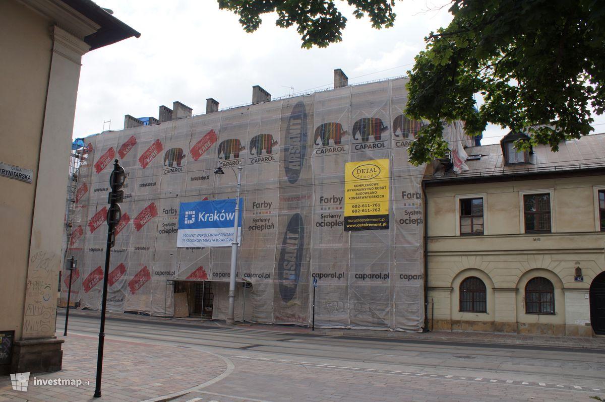 Zdjęcie Remont Kamienicy, ul. Krakowska 45 fot. Damian Daraż