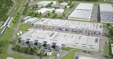 """[Warszawa] Kompleks magazynowo-biurowy """"Diamond Business Park Ursus"""" 76120"""