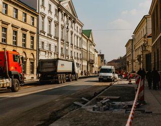 [Warszawa] Przebudowa ulicy Miodowej 374361