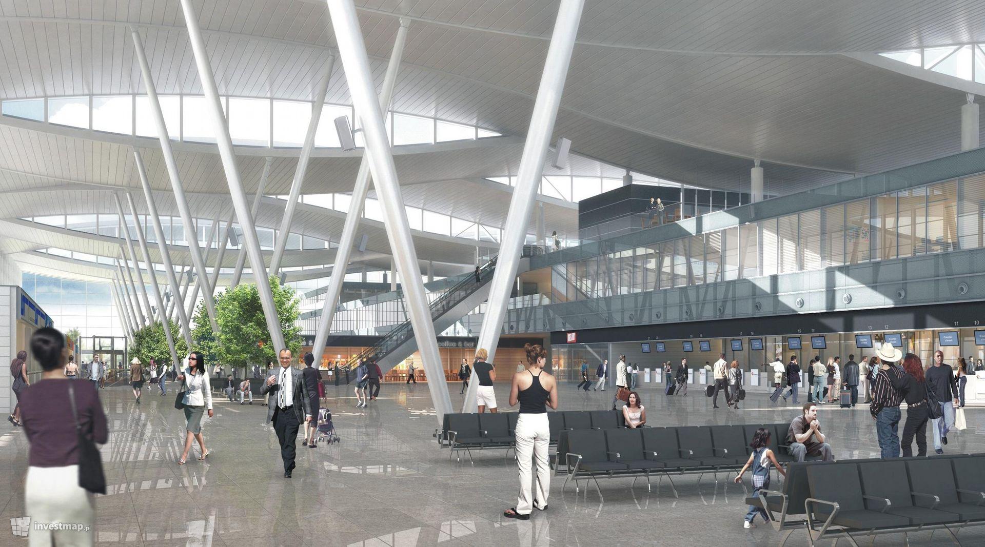 Rozbudowa terminala i nowy port lotniczy