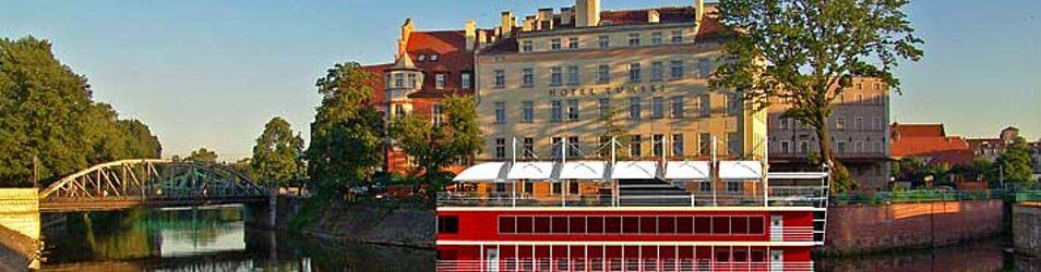 """[Wrocław] Restauracja """"Barka Tumska"""" przy hotelu """"Tumski"""" 9562"""
